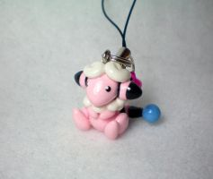 Flaaffy Phone Charm by OhThePlushabilities