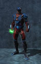 The Atom CW (DC Universe Online) by VexylGraphics