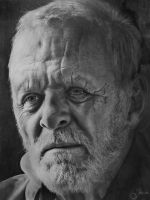 Anthony Hopkins by anne-arte