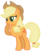 Vector: Applejack 52 by EStories