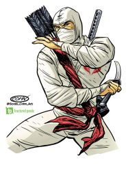 Storm Shadow GiJoe 50th Anniversary Toy Packaging by ScottCohn