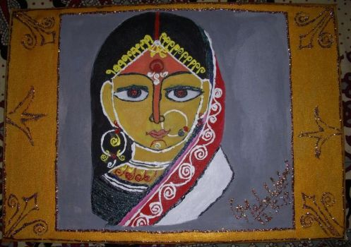 An Indian Lady by tamannah