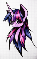 [Twilight Sparkle] by TwistedMindBrony