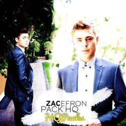 Pack 38 - Zac Efron by HQPacks