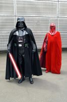 Darth Vader and Imperial Guard by masimage