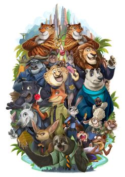Welcome To Zootopia! by Lillidan86