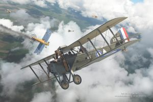 Armstrong Whitworth F.K.8 Box Art by rOEN911