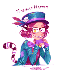 Tigshire Hatter by TigerToony