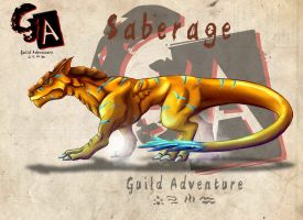 Guild Adventure: Saberage by KukuruyoArt