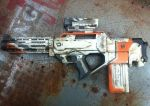 nerf district 9 inspired rifle by billy2917