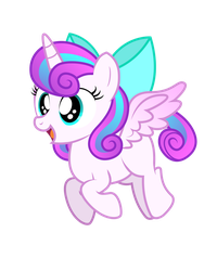 Filly Flurry - Flying by AleximusPrime