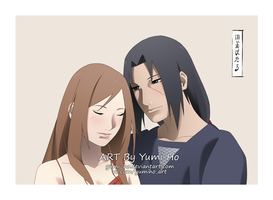 Akina and Itachi by Yumi-Ho
