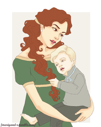 Hermione and Scorpius by Mariyand-R