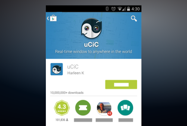 Ucic Android Promo Graphic by Artworkbean by artworkbean