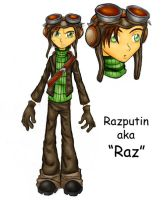 Raz from Psychonauts by Dreamwish