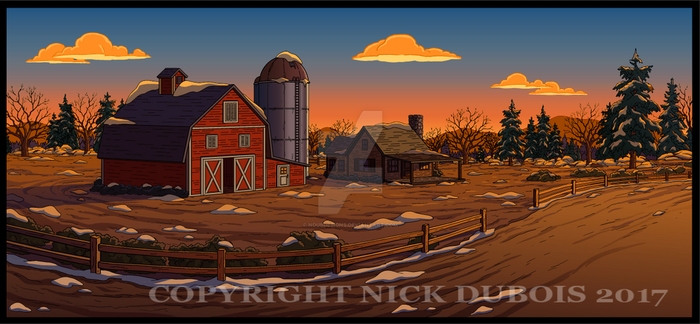 AD Barn Road Color Dept Copyright Nick DuBois 2017 by NDuBdesigns