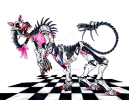 FNAF Mangle by DeathRage22