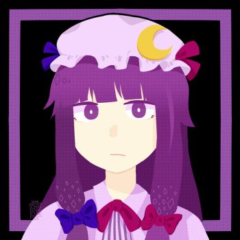 Touhou - Patchouli Knowledge by taxhun
