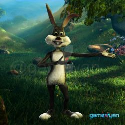 Bunny 3D Cartoon Character Modeling by Gameyan by gameyan