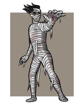 Mummy by DerianDraws