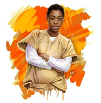 Poussey Riot by Satine747