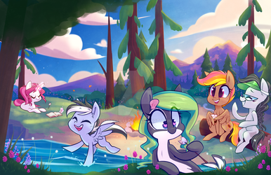 Everfree Northwest Conbook Cover 2017 by Hollulu