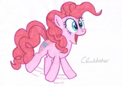 Pinkie Pie by clouddasher