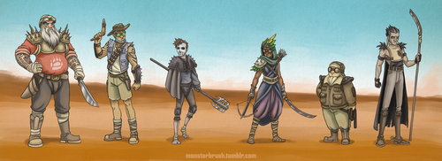 Rotg Mad Max AU by MonsterBrush