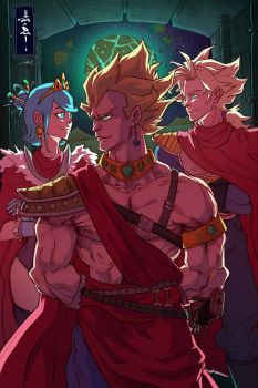 Return of the King - The Royal Family by raging-akujiki
