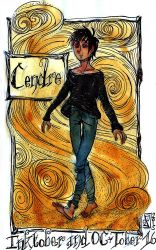 Inktober 16 - Cendre by Arkanth