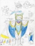Magolor cosplay concept sheet by kingofthedededes73