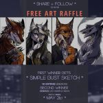ART RAFFLE by tatiilange