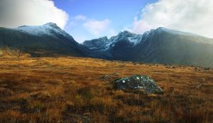 Skye, The Black Cuillin IV by younghappy