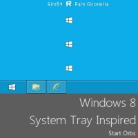 Windows 8 System Tray Inspired by Giro54
