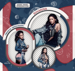 PACK PNG 588| RIHANNA by MAGIC-PNGS