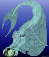 Water Gargoyle 2 by Songficcer