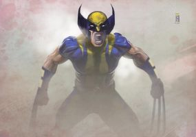 -- Wolverine -- by yvanquinet