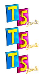 T5 Comix Logo--Variant WIP by TheUnisonReturns