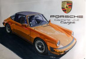 porsche 911 targa 1987 by Stephen59300