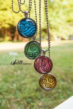 Water, Earth, Fire, Air by zeldalilly