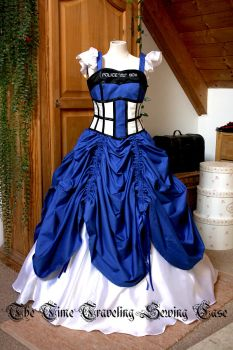 TARDIS dress #3 by Stahlrose