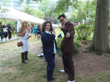AnimeNext 2015 River Song 10th Doctor Sunday by inugrl6