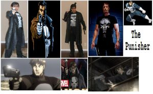 The Punisher cosplay collage by IronCobraAM