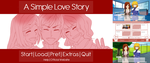 [Visual Novel] A Simple Love Story by chocojax