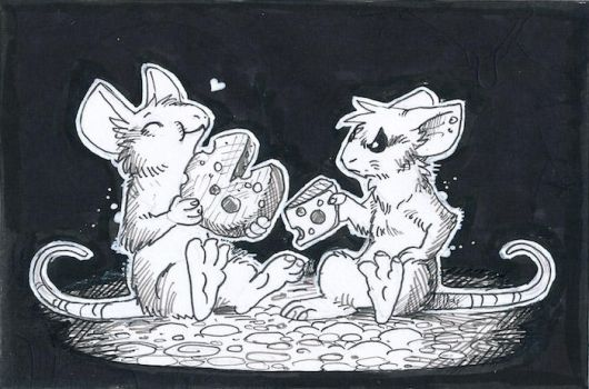 Inktober day 2: divided by drachenmagier