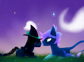 couple commission for idie by lul-laby