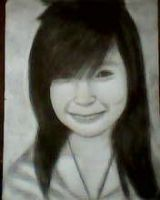 2013 drawing - Ms. Jane Lyka :) by nielopena