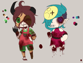 Horror Adopts ~ (1/2) OPEN by xXPoltergeistOnnaXx