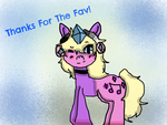 Thanks For The Fav.... by Pinkie---Dash