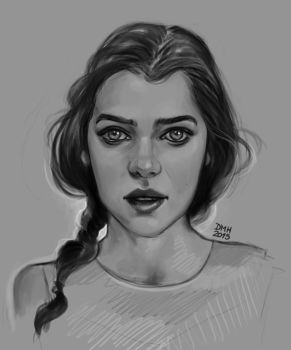 Girl Portrait by Didiher